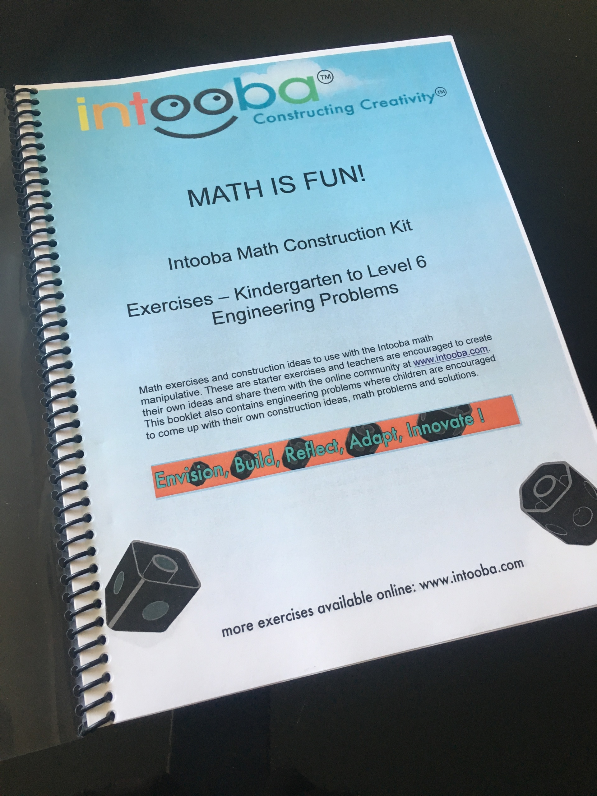 Intooba MATH/STEM Exercise Book from Kindergarten to 6th Grade